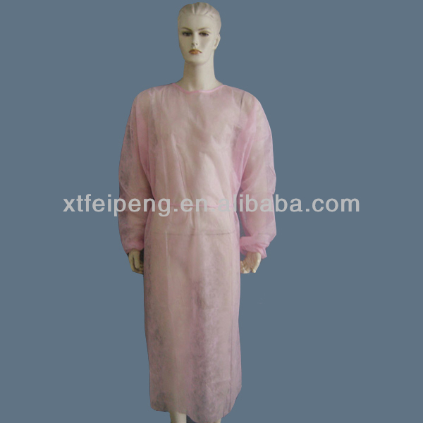 Pink Isolation Gowns
