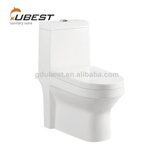 Square pure white dual-flush ceramic siphon one piece new model washlet toilet prices