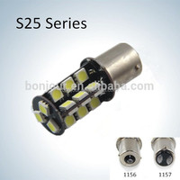 27smd auto s25 canbus 1157 bulb socket 1156 car led light lamp led car