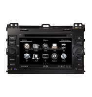 ZESTECH pioneer car audio stereo for Toyota Prado 2002-2009 central multimedia china with dvd gps navigation radio tv bluetooth