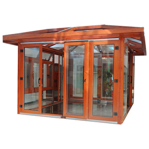 Hot sale luxury china modern sunroom houses prefabricated