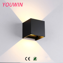 Wholesale 6W COB Beam Angle Adjustable LED Outside Waterproof Outdoor Wall Light
