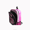 2015 New Model Daily Outdoor Leisure 600D Black High School Backpack for Teens