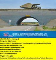 CMP assembly corrugated metal pipe widely use in roadway railway bridge tunnel passage water stream