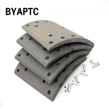 Truck Brake Lining Drum Brake For Truck KENWORTH VOLVO IVECO Ford