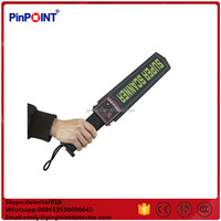 MD3003B1 Gold Diamond Hand Held Metal Detector/Supper body scanner/supper wand hand held metal detector