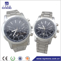 Stainless steel couple watch for wedding gifts