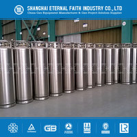 Large Portable Steel Liquid Nitrogen/ Oxygen/ Argon Dewar Tank for Sale