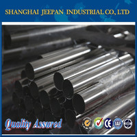 Quality black aisi 304 seamless Stainless Steel Round Tubes on Stock