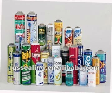 insecticide can/empty aerosol can/body spray can