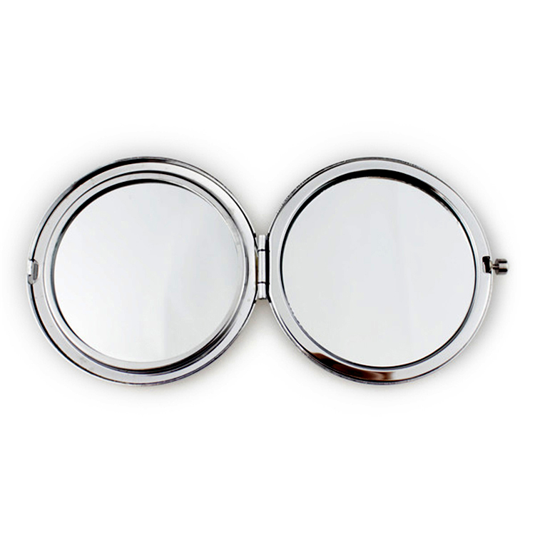 2019 Fashion Compact Mirror Factory OEM High Quality Make Up Round Pocket