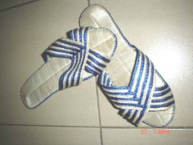 Abacca Slippers