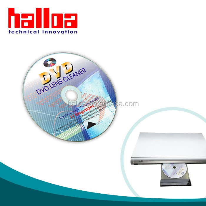 Multi Language Professional Laser Lens Bluray CD DVD Cleaning Disc