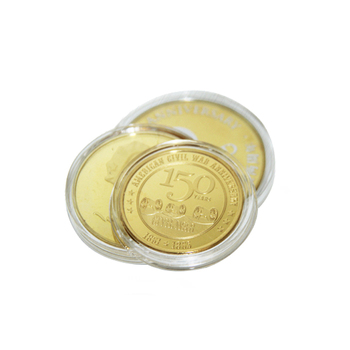Promotional New Cheap Plastic Gift Transparent box Coin Capsules