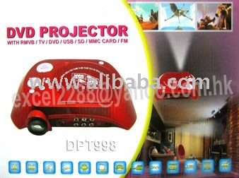 Multifunction Portable DVD player projector at competitive price