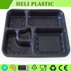 takeaway plastic tray and container for airline and restaurant food packing