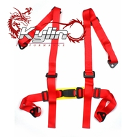 Kylin Racing 2''4-Point H-style Mounting Racing Harness Seat BeltKylin Racing 2''4-Point H-style Mounting Racing Harness Seat Be