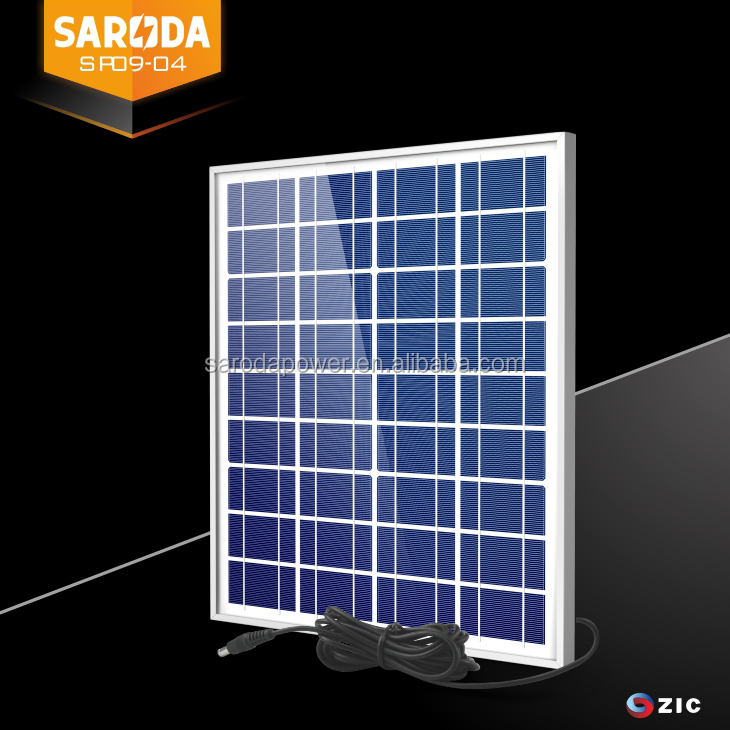 HIGH QUALITY 18V MINI 20W POLYCRYSTALLINE SILICON SOLAR PANEL