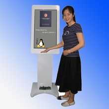 Customized 10 points touch kiosk for fast food wholesale online