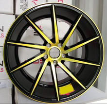 "auto rim aluminum alloy wheel 17-20"" pcd 5x114.3 /5x112/5x100 wheels for car"