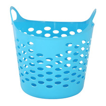New Plastic Basket with Handle/Plastic Laundry Basket