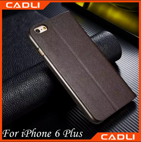 New arrived PU TPU Phone case Leather Flip Case for Iphone 6 plus