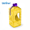 2.2 liter BPA FREE petg plastic water jug with side handle