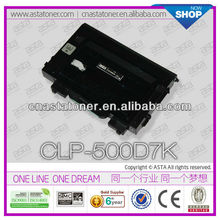 ASTA Toner cartridge high quality hot sale CLP-500 for samsung chip reset