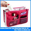 Wholesale polyester travel cosmetic storage bag with padding inside