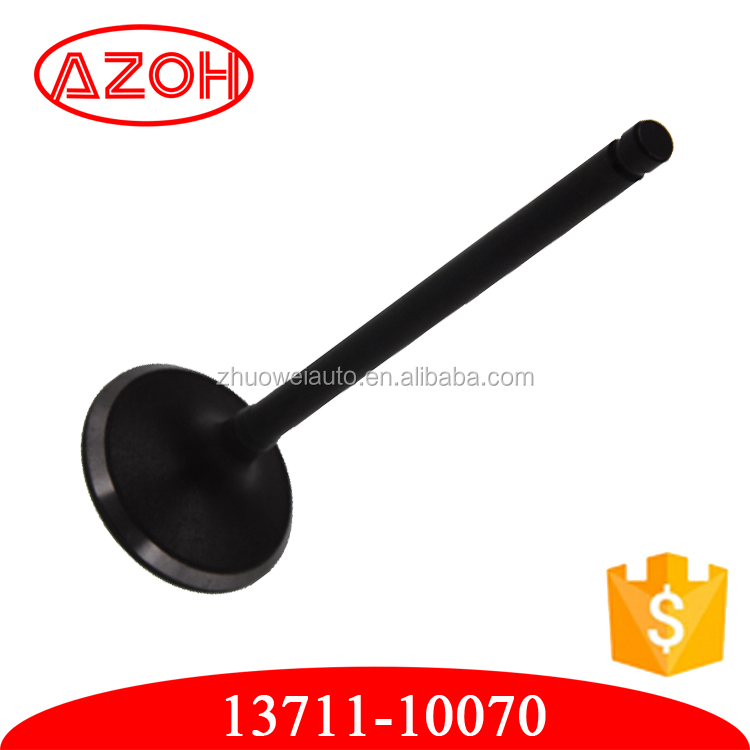 Toyota auto parts engine valve intake & exhaust valve 13711-10070 1371110070 for car generator