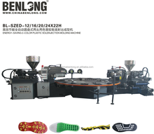 plastic injection shoe moulding making machines