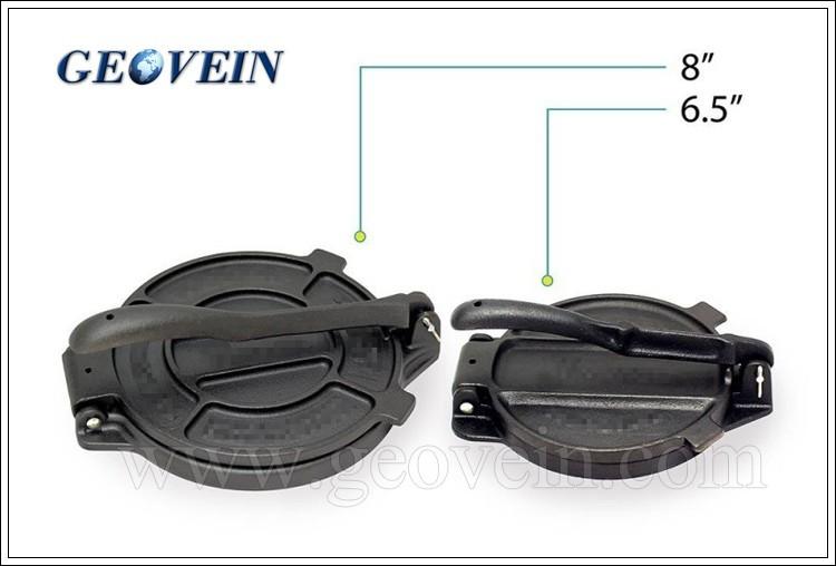 Non Electric Pressing Iron ~ Preseasoned mexico non electric tortilla press cast iron