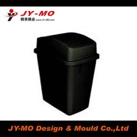 Large-scale plastic dustbin mould/mold/molding