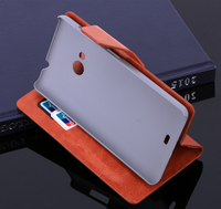 Protective sleeve cover case holster PU Leather wallet cover stand Flip Case for Nokia 535