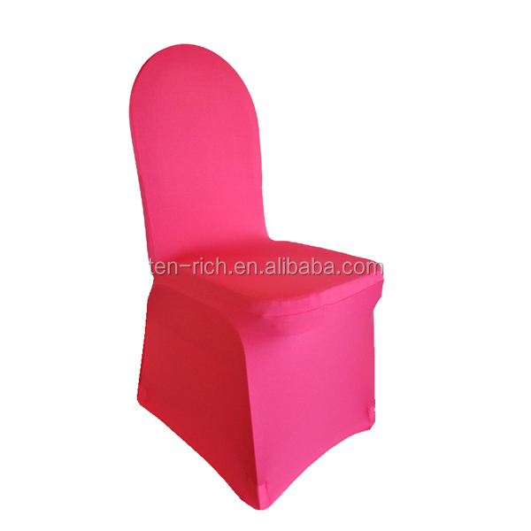Spandex Stretch Chair Slipcover,Fuchsia