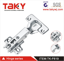 metal adjustable locking hinge for cabinet and door