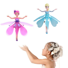 USB Rechargeable Fairy Doll Rc Fying Toy Cheap Flying Fairy Toy Wholesale