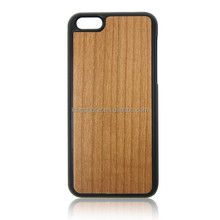 New Arrival Hot Selling PC Wooden mobile phone Case for iPhone 5c Made in China Factory
