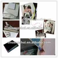 High quality photo book making pvc album sheet