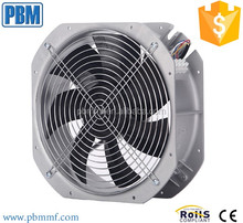 Outdoor DC telecom cabinet cooling fan