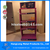 metal material pet dog food display rack for pet store
