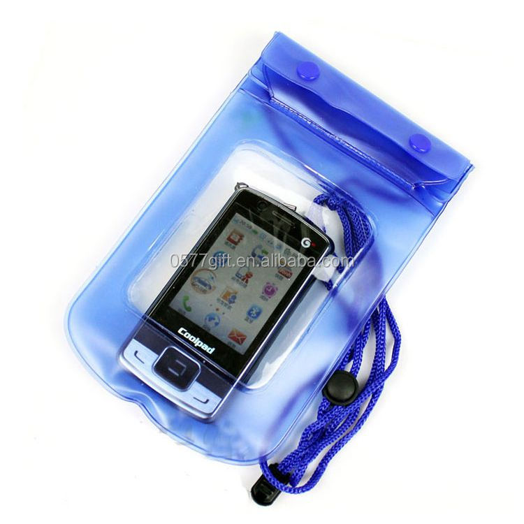 PVC phone waterproof bag case ,waterproof case For Iphone 5