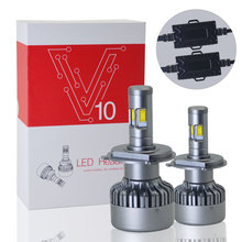 Hot Selling Auto Led Headlight V10 9004 <strong>car</strong> light bulbs <strong>lamp</strong> light bulbs