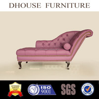 european neoclassical royal luxury tufted chesterfield chaise lounge AL039