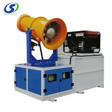 Dust suppression fog cannon dust control system for coal mining