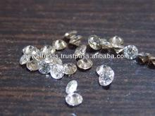 Pointer light brown diamonds, side minor internal chipping, no spots or table inclusions