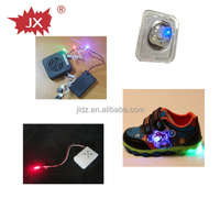 Flashing shoe light for doll with led light and push button for dolls