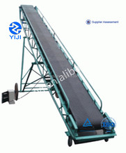 Reliable quality stone movable conveyor belt machine