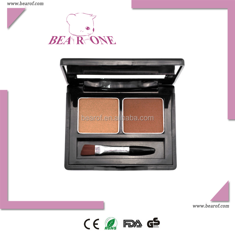 Eyebrow powder 2 colors palette popular cosmetic promotion gift