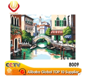 DIY digital oil paintings kits for sale Venice watercity